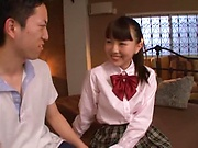 Alluring sweetie Ayanami Yume loves her cunt nailed