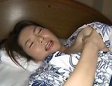 Hot housewife Nagasawa Azusa enjoys ass fuck picture 12