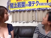 Wakaba Onoue enjoys a good shag doggy-style