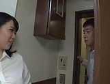 Saitou Miyo gets her tight wet muff filled by a hard pole