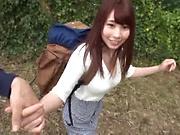 Amateur Hasegawa Rui enjoys wild outdoor sex