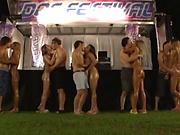 Japanese barbies banged in lustful group adventure