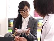 Office Japanese hardcore with Ayane Haruna