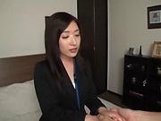 Rena Sakaguchi enjoys a worthwhile session