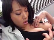 Sexy babe Shibuya Kaho gets screwed amazingly