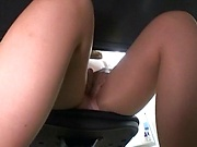 Cute Asian babe loves a hardcore pounding indoors