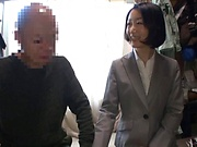 Eri Itou seduces her boss with her charms into office sex