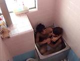 Stunning An Arisawa gives a hot blowjob in the bath