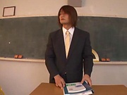 Ayami Shunka getting screwed superbly in classroom