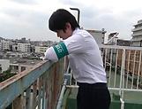 Lovely school going Suzumura Airi sucks cock hard