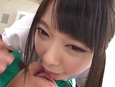 Hot Asian schoolgirl gets loads of cream on her muff picture 11