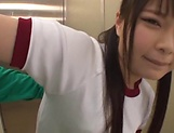 Hot Asian schoolgirl gets loads of cream on her muff