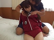 Hikaru Kakitani featured in a kinky hardcore action