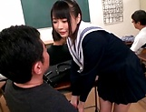 Hot Eri Natsume gets her juicy tiny twat rammed hard picture 11