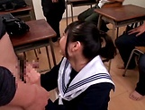 Hot Eri Natsume gets her juicy tiny twat rammed hard picture 15