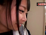 Hot Eri Natsume gets her juicy tiny twat rammed hard