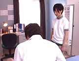 Aihara Tsubasa gets thick cum after harsh sex