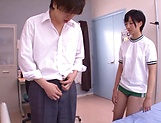Aihara Tsubasa gets thick cum after harsh sex picture 4