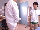 Aihara Tsubasa gets thick cum after harsh sex picture 5