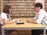Mogami Kasumi in heats enjoys a big dildo in her cherry