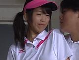 Asami Nagase chokes on a massive pole