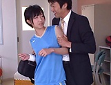 Sweet schoolgirl Aihara Tsubasa screwed in the classroom picture 3