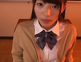 Voluptous schoolgirl Wasa Yatabe gets a good bonk picture 11