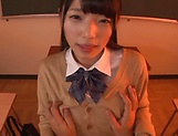 Voluptous schoolgirl Wasa Yatabe gets a good bonk