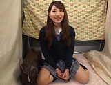 Japanese teen beauty loves sucking hard cock picture 5