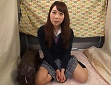 Japanese teen beauty loves sucking hard cock picture 7