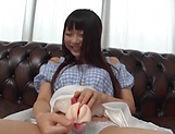 Amatuer Asian hottie Eri Natsume in raunchy indoors scene picture 12