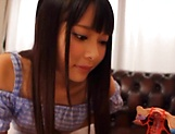 Amatuer Asian hottie Eri Natsume in raunchy indoors scene