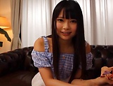 Amatuer Asian hottie Eri Natsume in raunchy indoors scene picture 6