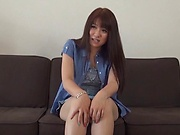 Asa Hikaede gets a messy cum on tits