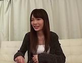 Kinky Asian hottie Shuri Atomi in raunchy toy scene