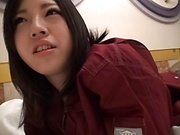 Naughty amateur Asian minx enjoys hot teasing