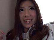 Curvy Yukitani Chinami in kinky hardcore pounding session