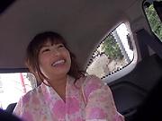 Hayakawa Mizuki has her shaved cunt pleasured