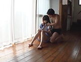 Sweetie Nagomi gets wild with lad on the floor