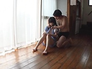 Sweetie Nagomi gets wild with lad on the floor