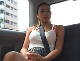 Shien Fujimoto enjoying an arousal car sex