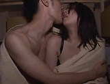 Naughty Mei Matsumoto gets creamed after a dick ride picture 15
