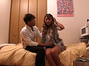 Superbly hot babe, Aika, enjoys a kinky fingering
