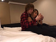Darling babe, Aika, gets a worthy creamed pussy