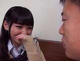 Naughty Shuri Atomi in hot toy threesome getting plowed picture 13