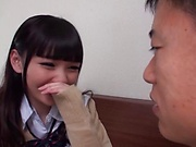 Naughty Shuri Atomi in hot toy threesome getting plowed