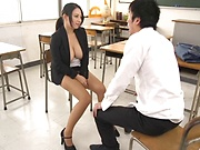 Oda Mako getting screwed superbly in the classroom