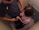 Hardcore teacher Mizuho Uehara gets bukkake delights