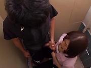 Lucky Asian teacher Mizuho Uehara gets bukkake gangbang