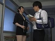 Naughty teacher Nikaidou Yuri needs cock in her vagina